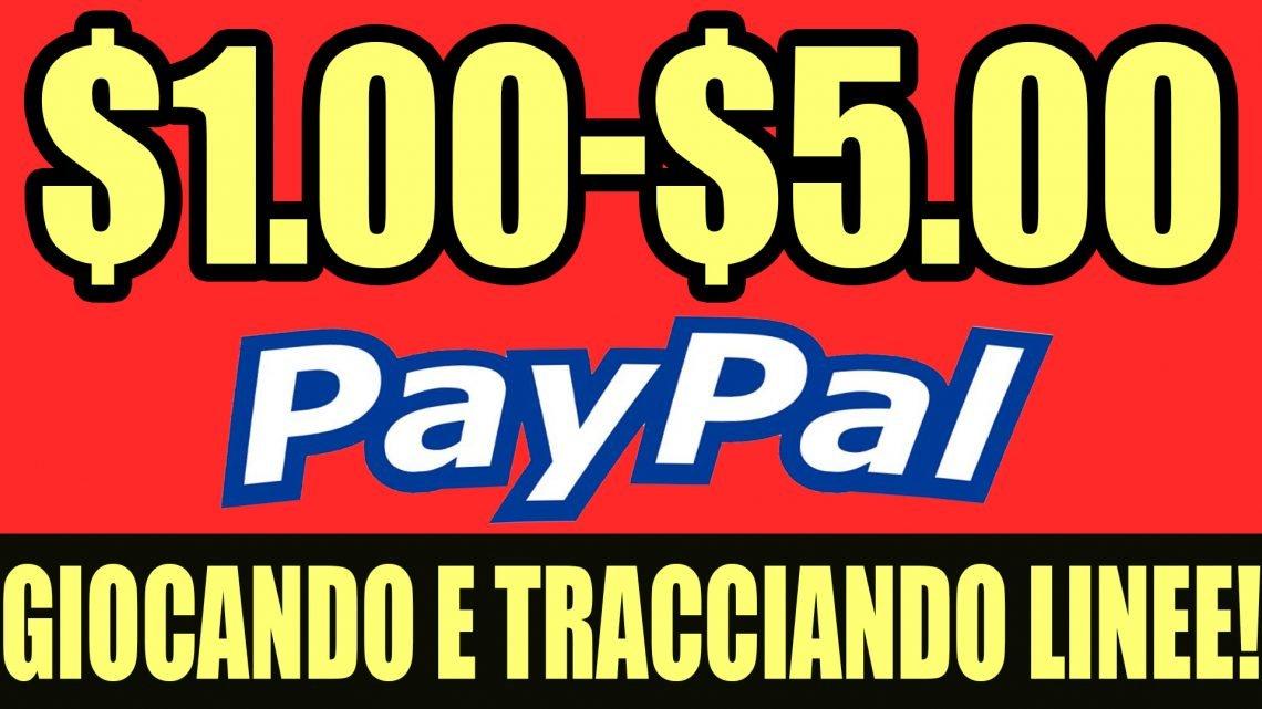Guadagnare $1.00-$5.00 AL GIORNO Tracciando Linee e Giocando!
