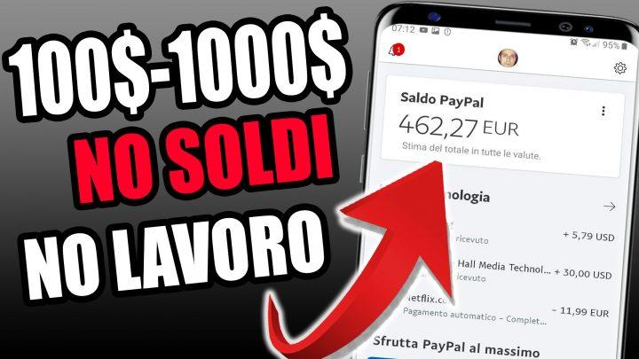 GUADAGNARE FINO A 1000$ CON QUESTA APP!