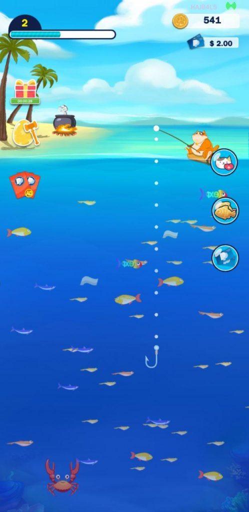 fish for cat app