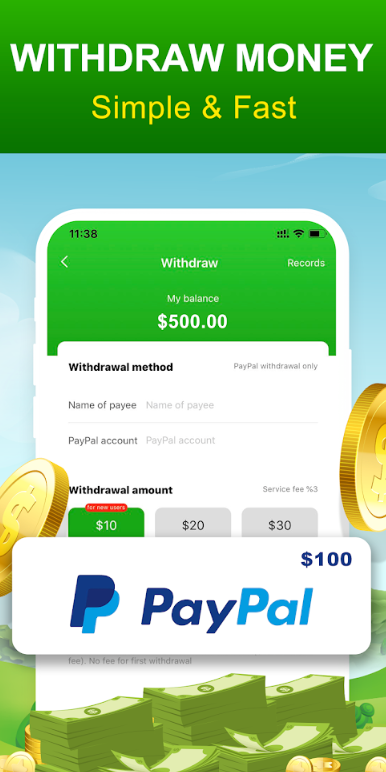 lucky fruit paypal payment