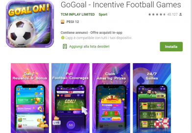 App per Guadagnare su Paypal Giocando a Calcio!