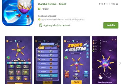 Sword Master Guadagna soldi e buoni regalo