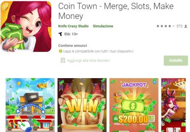Fare Soldi e Guadagnare Buoni Amazon con Coin Town