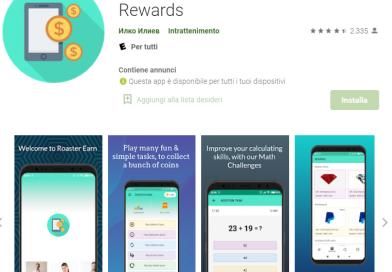 App per guadagnare soldi facendo calcoli e captcha