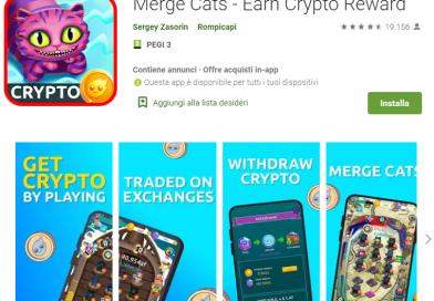 Merge Cats – Guadagna Crypto Giocando